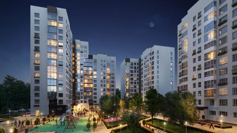 Объявление №60804223: Продаю трехкомнатную квартиру с европланировкой в новом ЖК, недалеко от метро