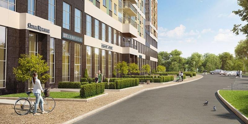 Объявление №49850658: Продаю однокомнатную квартиру-студию с  отделкой в новом жилом комплексе