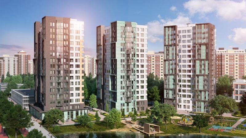 Объявление №60808197: Продаю просторную 3-комн. квартиру в новом ЖК, дом сдан, у метро