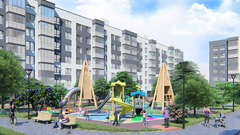 Объявление №65064831: Продается однокомнатная квартира-студия с  отделкой в новом ЖК, от застройщика