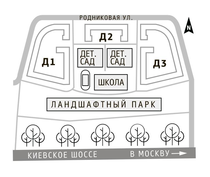 Продажа 3-комнатной новостройки, Москва, Родниковая,  30